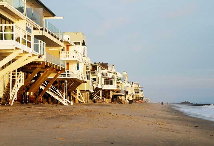 Malibu - Strand und Strandhäuser