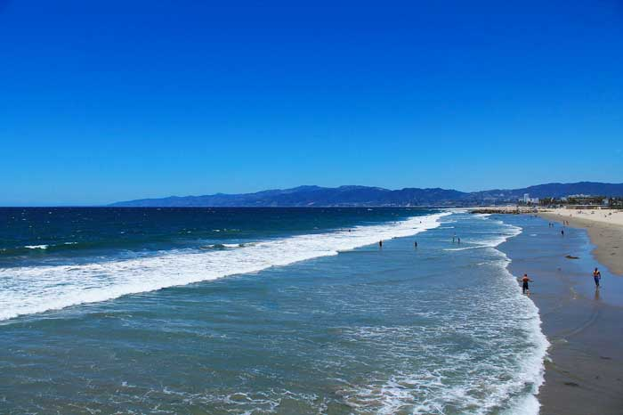 Santa-Monica-Bucht