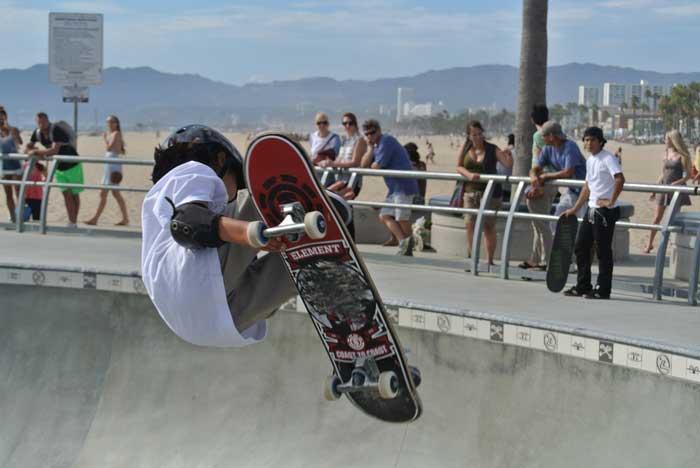 Skater in Los Angeles