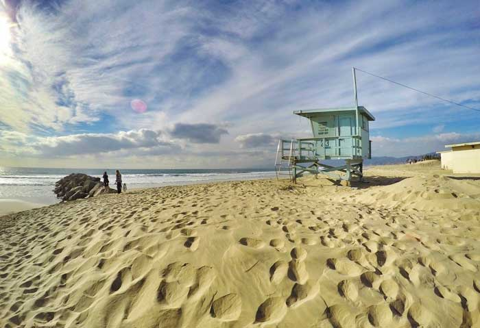 Strand in Los-Angeles