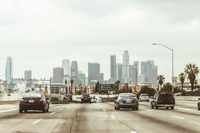 Strassenverkehr in L.A.