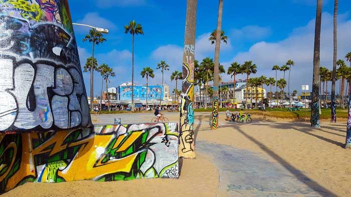 Street Art am Venice Beach